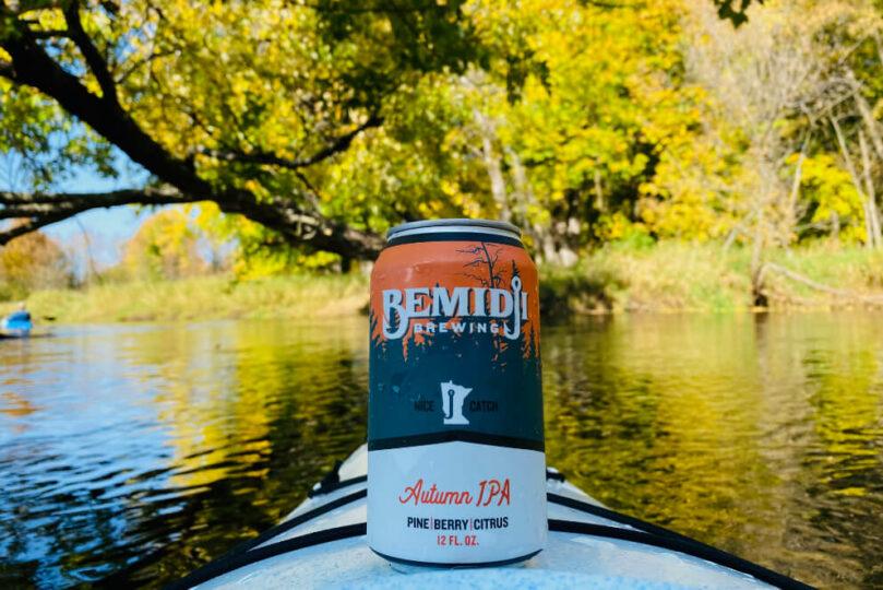 Bemidji Brewing Kayak